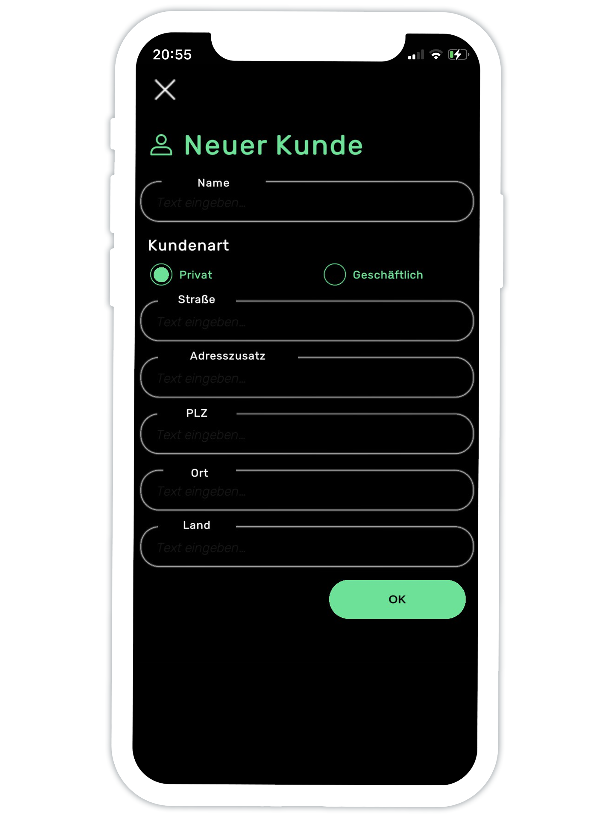 Das Anlegen von Kunden mit der Aufmaß App smart to plan